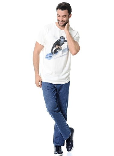 Baskılı Tişört-Wrangler